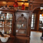 Antique Pharmacy Display Cases at the History of Pharmacy Research Center