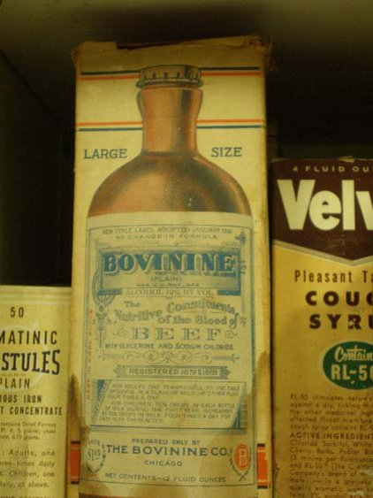 Antique Medicine on Display at the History of Pharmacy Research Center, Pharmacy Museum